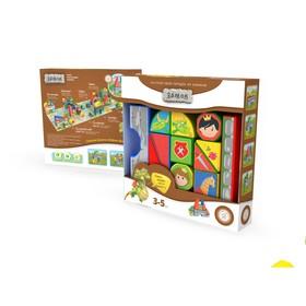 Пластиковые кубики «Замок»