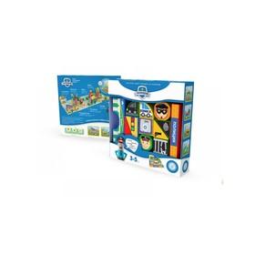 Пластиковые кубики «Полиция»