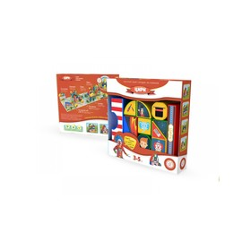Пластиковые кубики «Цирк»