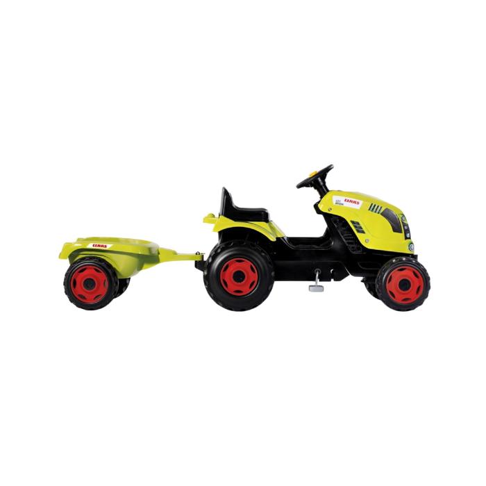 Трактор педальный Smoby с прицепом  XL