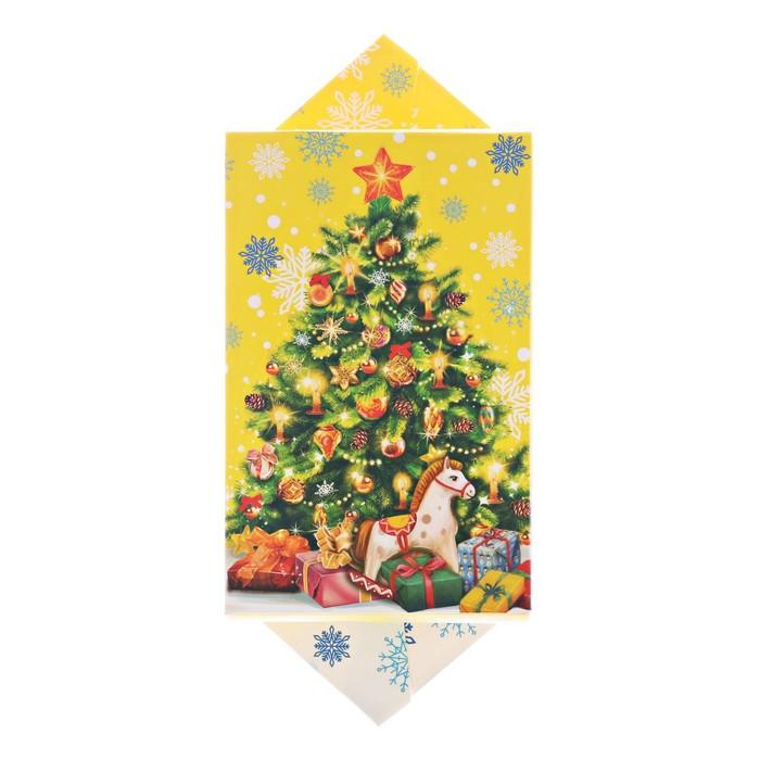 Сборная коробка‒конфета «Яркого праздника», 9.3 × 14.6 × 5.3 см