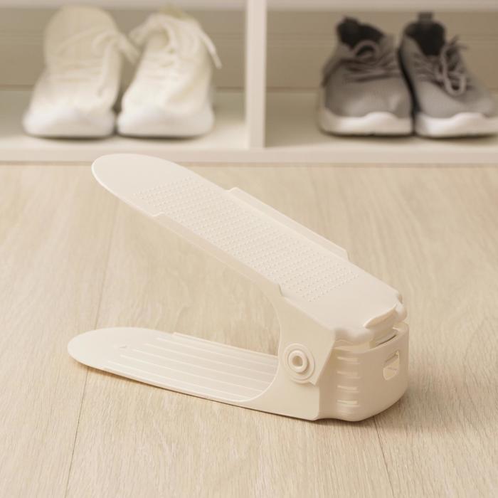 Подставка для обуви 25х12х9 см цвет МИКС
