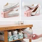 Подставка для хранения обуви регулируемая, 25×17×9 см, цвет МИКС - фото 4643505