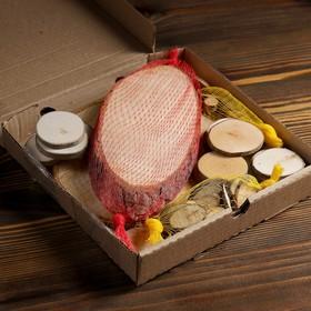 Набор для творчества «Эко-1»: срезы берёзы, сосны, ольхи, осины, можжевельника, веток