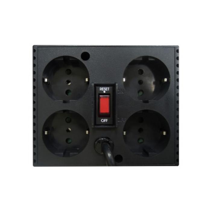 Стабилизатор напряжения Powercom TCA-2000, 1000Вт, 2000ВА, белый