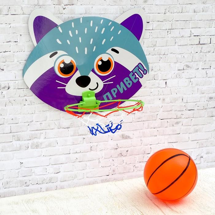 Игра баскетбол «Енот»