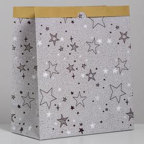 "Package crafty ""Stars"", 32 x 36 x 16 cm"