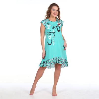 Сорочка женская 266 цвет мята, р-р 60