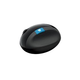 Мышь Microsoft Sculpt Ergonomic Mouse L6V-00005, беспроводная, оптическая, USB, черная Ош