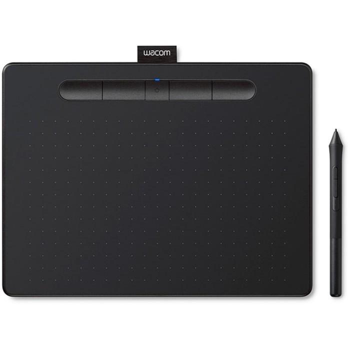 Графический планшет Wacom Intuos Medium, USB/Bluetooth, черный