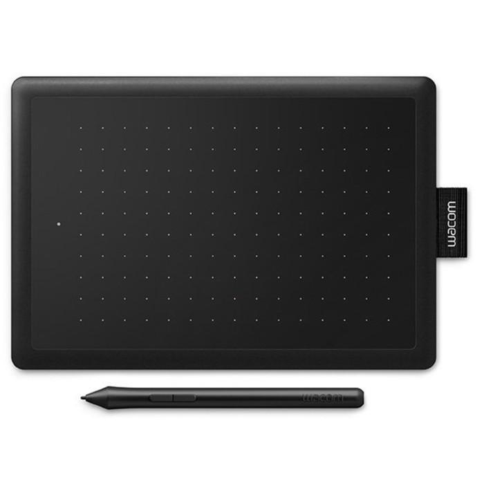 Графический планшет One by Wacom S, USB, черный