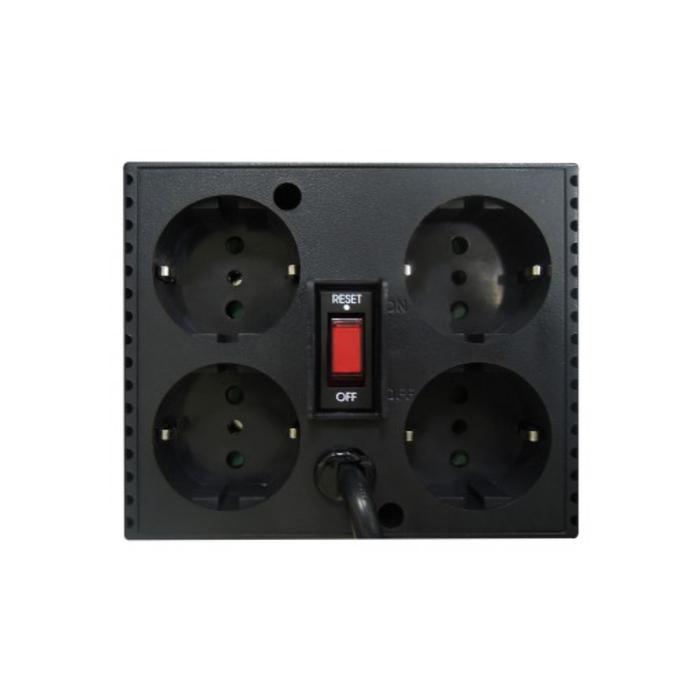 Стабилизатор напряжения Powercom TCA-1200, 600Вт, 1200ВА, белый