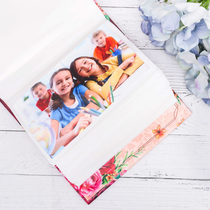 """Подарочный набор """"Любимому классному руководителю!"""": фотоальбом на 100 фото и интерьерные буквы"""