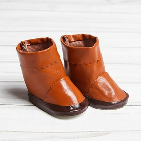 Tops for the doll, the length of sole 6.5 cm, color brown