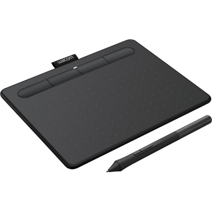 Графический планшет Wacom Intuos S, USB/Bluetooth, черный