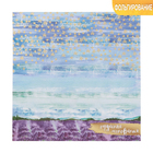 """Paper for scrapbooking with embossed """"Lavender dreams"""", 20 × 20 cm, 250 g/m"""