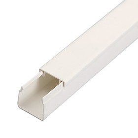 Кабель-канал IEK ECOLINE, 16х16 мм, L=2000 мм, пластик, белый