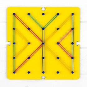 Геоборд «Ассорти» 19 × 19 см