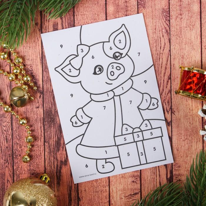 воскресенье радостью год свиньи рисунок на новый год нанести макияж
