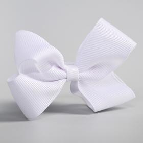 Bow for hair, VINKS, white.