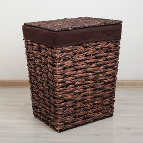 Корзина универсальная плетёная «Классика», малая, цвет коричневый