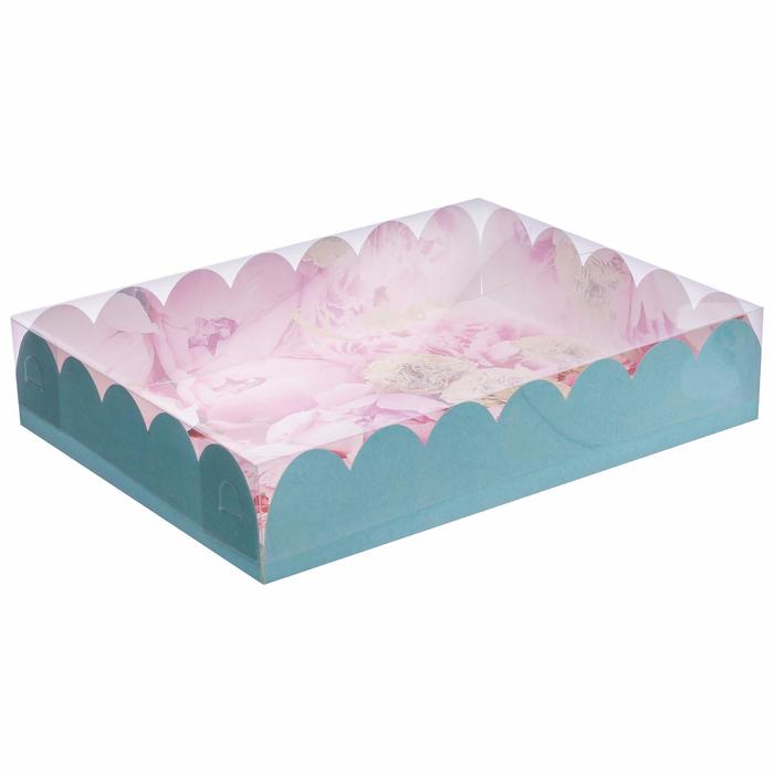 Коробка подарочная с PVC-крышкой «Прекрасные мечты», 30 × 40 × 8 см - фото 150460440