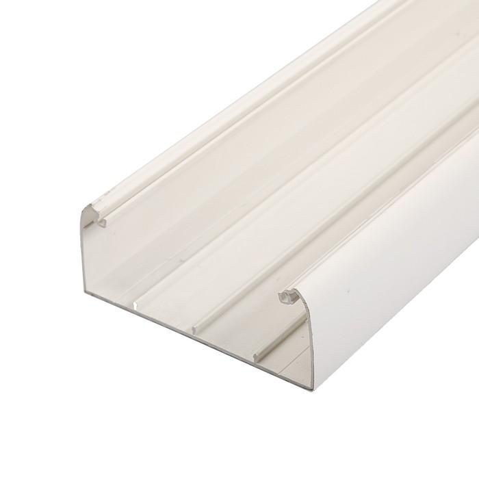 Кабель-канал IEK, серия ПРАЙМЕР, 150х60 мм, L=2000 мм, пластик, белый, CKK40-150-060-1-K01