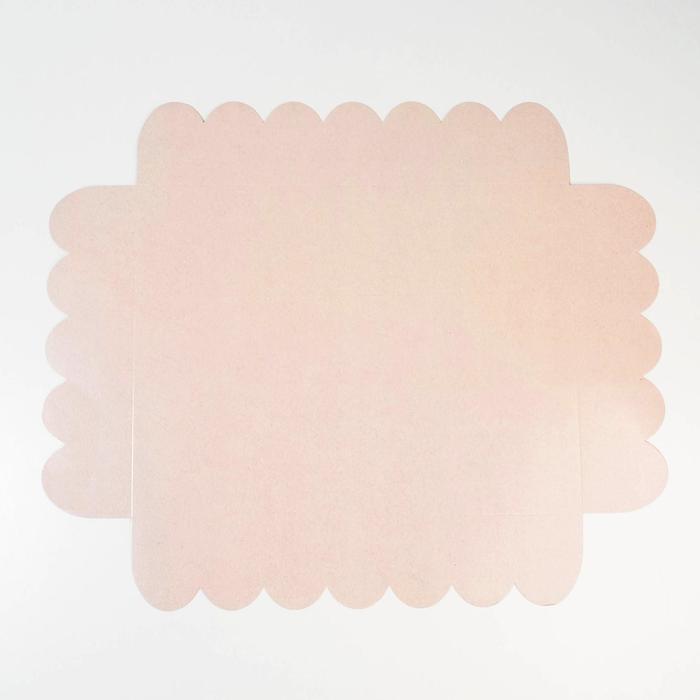 Коробка подарочная с PVC-крышкой «Тебе», 30 × 40 × 8 см - фото 308984971