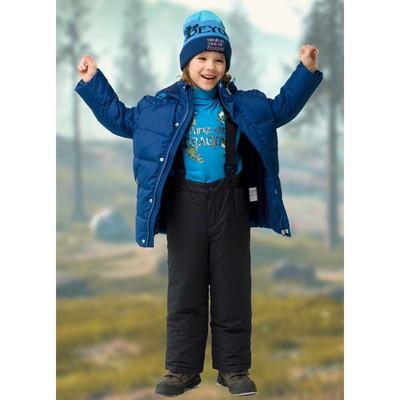Комбинезон для мальчика, рост 116 см, цвет чёрный
