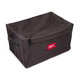 Органайзер в багажник iSky, полиэстер, 35x23x21 см, черный