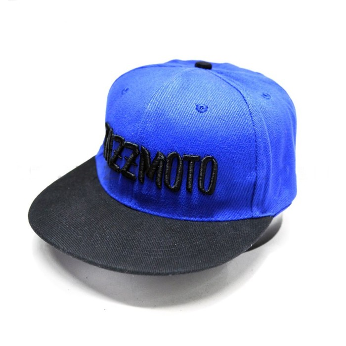 Кепка #JAZZMOTO light blue/black