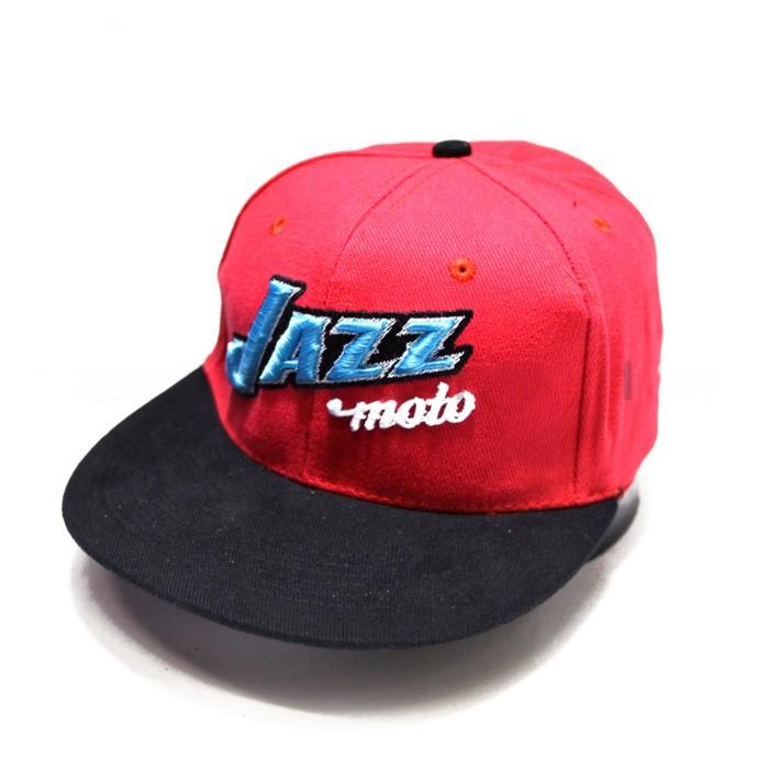 Кепка JAZZmoto light red/black