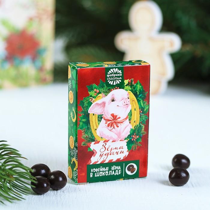 """Кофейные зерна в шоколаде """"Зерна удачи"""", 30 г"""