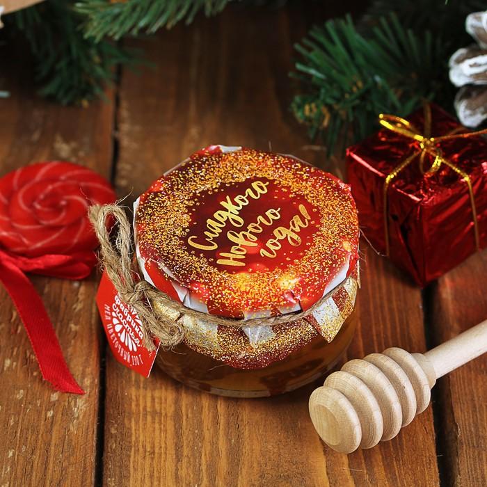 """Мёд цветочный """"Сладкого нового года"""", 130 г"""