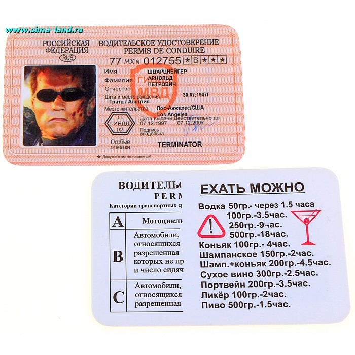 минус первая прикольные водительские права в картинках ключи наборы