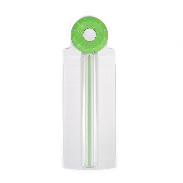 Резак для бумаги роликовый А4, до 3 листов, безопасное лезвие, широкоформатный 12 насадок