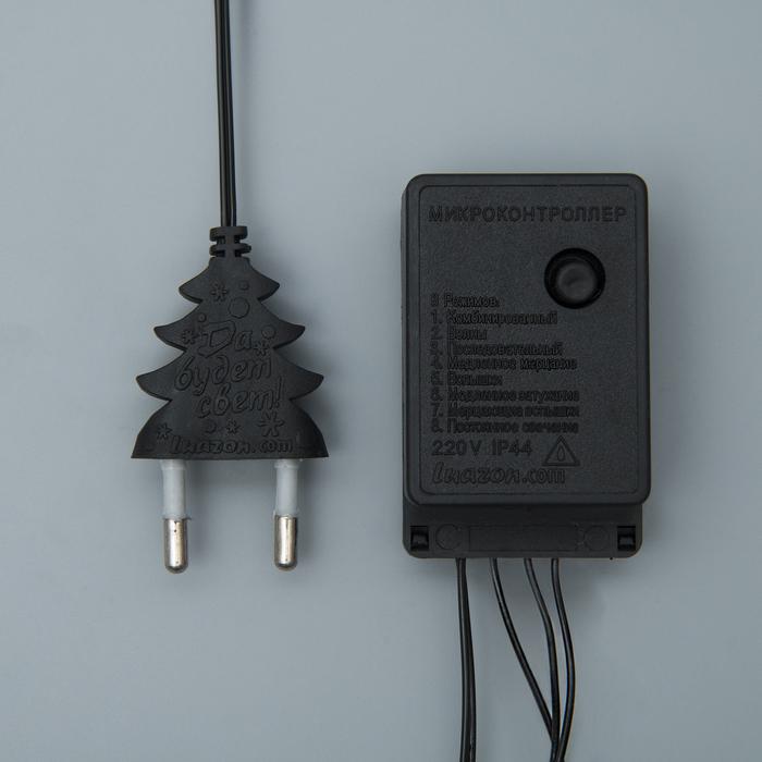 НИТЬ, 5 м, Н.Т. LED-50-220V, 8 режимов, КРАСНЫЙ