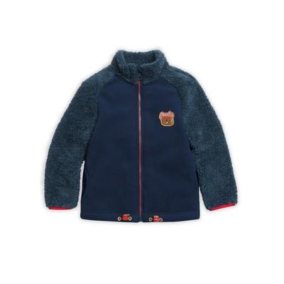 Куртка для мальчика, рост 98 см, цвет джинс