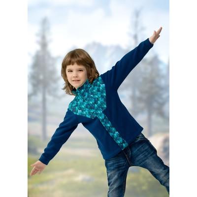 Куртка для мальчика, рост 86 см, цвет джинс