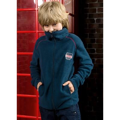 Куртка для мальчика, рост 140 см, цвет джинс