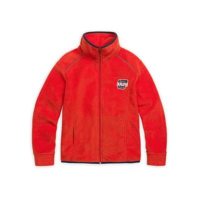 Куртка для мальчика, рост 128 см, цвет красный