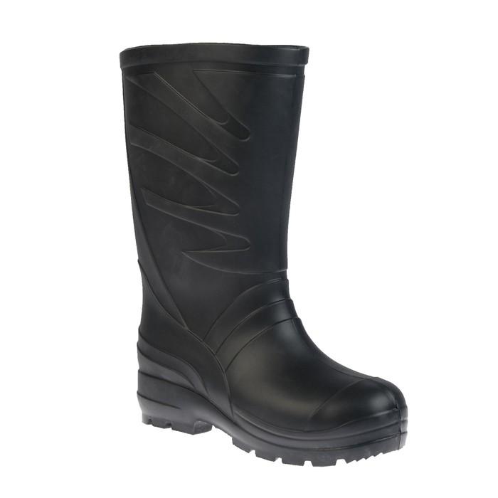 Сапоги мужские ЭВА, цвет чёрный, размер 46