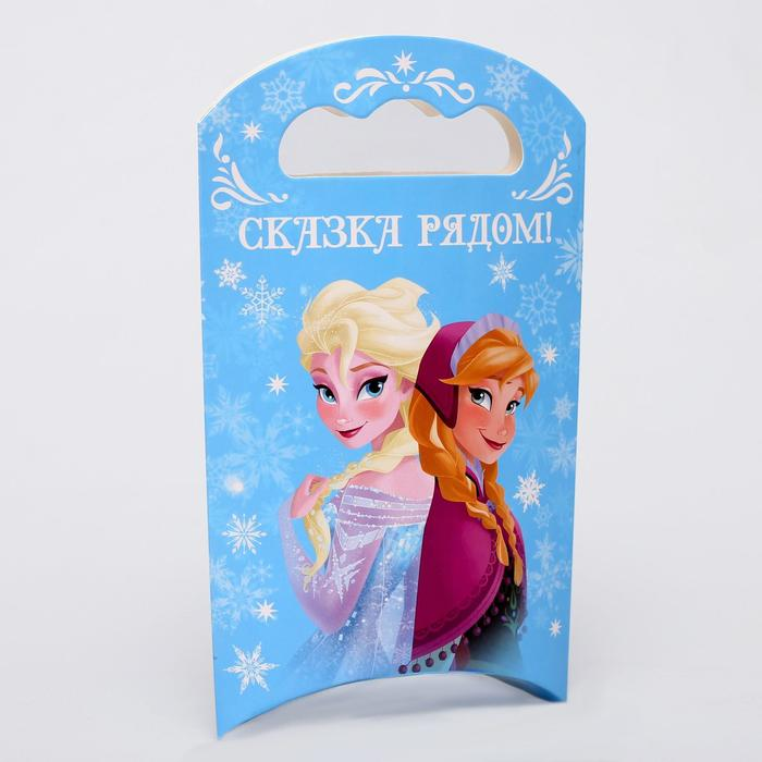 """Коробка подарочная """"Сказка рядом"""", Холодное сердце, 12 х 18,5 х 3,8 см"""