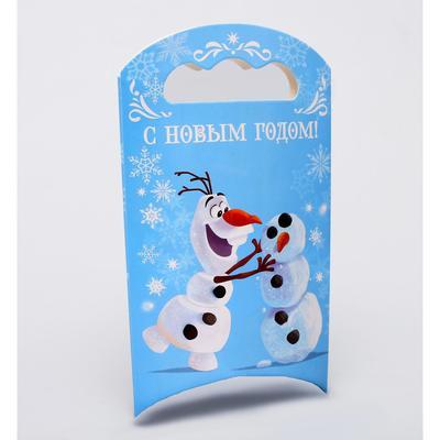 Подарочная коробка «С Новым Годом!», Холодное сердце, 12 х 18,5 х 3,8 см