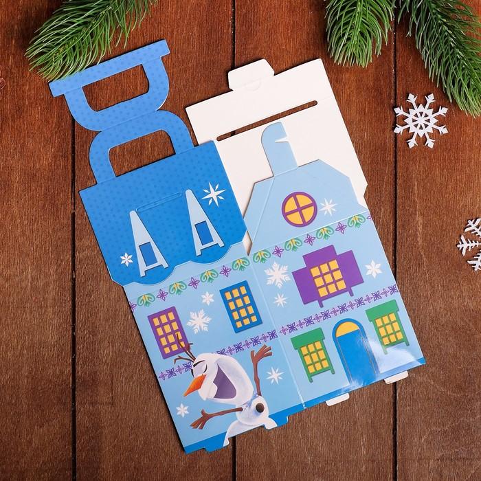 """Коробка подарочная """"Волшебного нового года!"""", Холодное сердце, 8 х 14 х 8 см"""