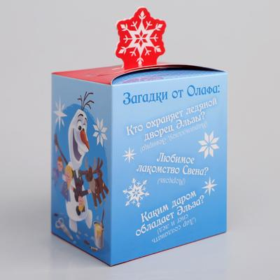 Подарочная коробка «С Новым Годом!», Холодное сердце, 8 х 10 х 8 см