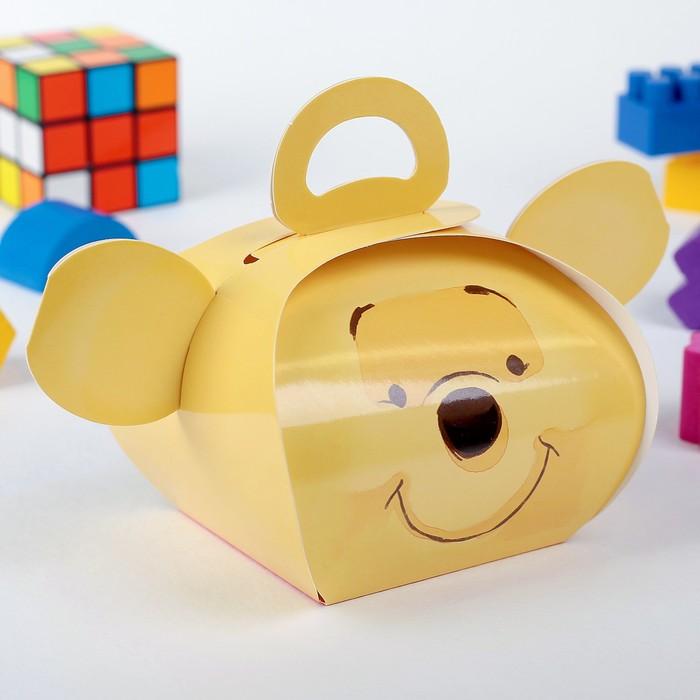 """Коробка подарочная """"Винни"""", Медвежонок Винни, 11,5 х 11 х 9 см"""