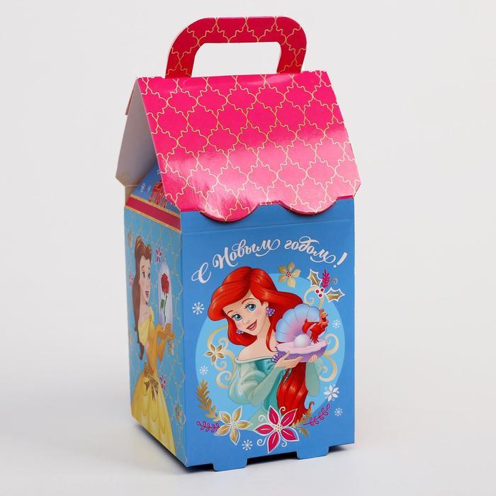 """Коробка подарочная """"С Новым годом"""", Принцессы, 8 х 14 х 8 см"""