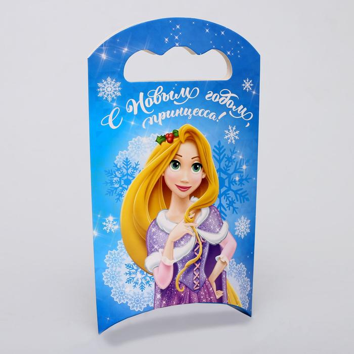 """Коробка подарочная """"С Новым годом, принцесса"""", Принцессы, 12 х 18,5 х 3,8 см"""
