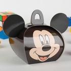 """Коробка подарочная """"Микки"""", Микки Маус и его друзья, 11,5 х 11 х 9 см"""